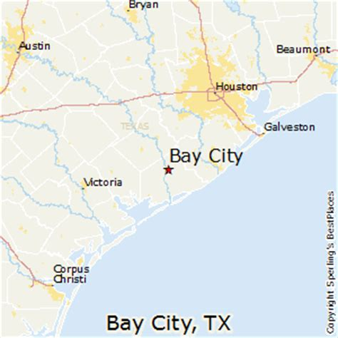 map of bay city texas best places to live in bay city texas