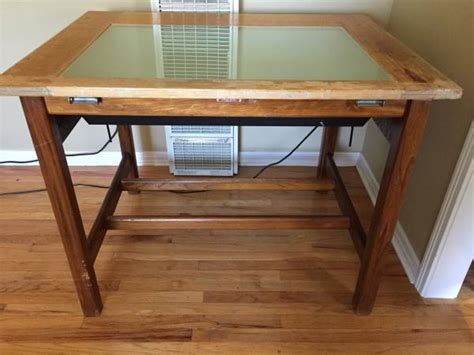 vintage drafting light table vintage drafting table espotted