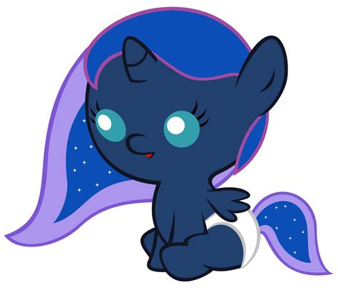 my little pony princess luna and celestia babies baby luna stardustxiii style by beavernator on deviantart