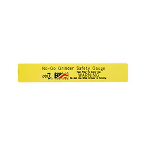 bench grinder safety scale no go bench grinder safety gauge magnet odiz