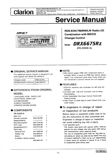 Page 37 Of Clarion Stereo System Dxz645mp User Guide | Jzgreentown.com