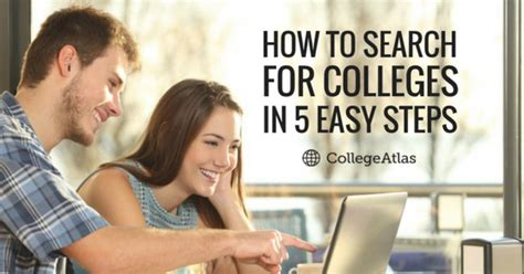 How To Choose Major In Mba by How To Search For Colleges In 5 Easy Steps