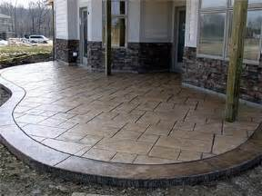 Stamped Patio Designs by Stamped Concrete Springboro Oh Photo Gallery Ohio
