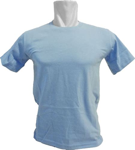 Kaos Polos Biru Muda Cotton Combed 20s Size Xl berikan anak kualitas kaos anak polos yang terbaik