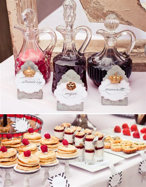 bridal shower dinner table bridal shower brunch table decorations party themes