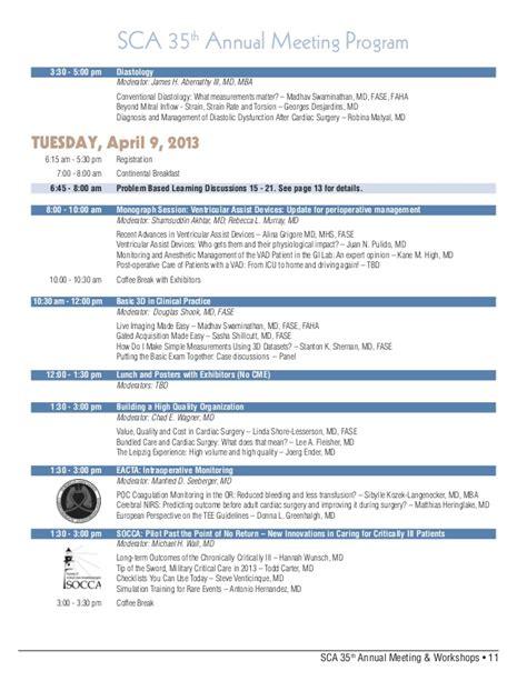 11th annual barnabas health cardiovascular symposium society of cardiovascular anesthesiologists sca 35th
