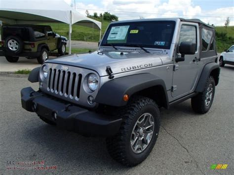 jeep rubicon silver 2014 jeep wrangler rubicon 4x4 in billet silver metallic
