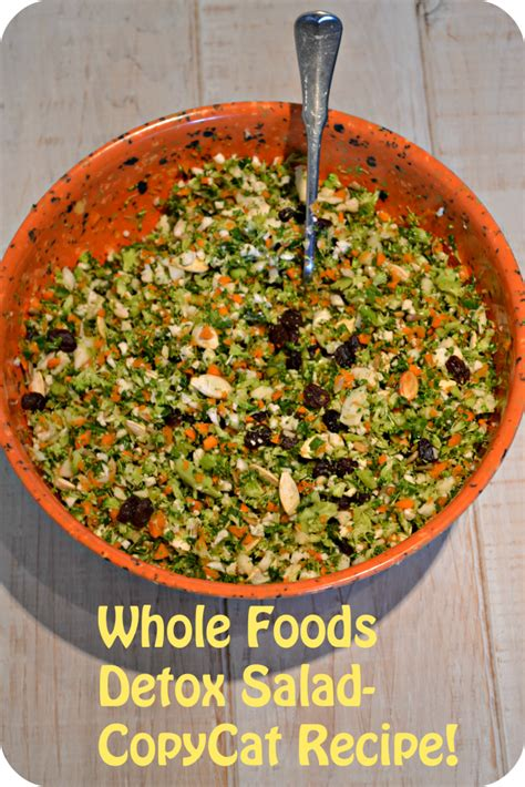 Detox Whole Foods Salad by Whole Foods Detox Salad
