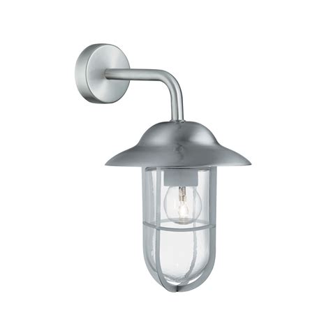stainless steel outdoor lights 3291ss 1 light stainless steel outdoor wall light