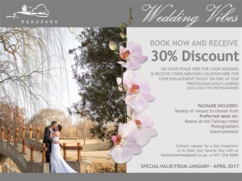 Special Wedding Pictures by Weddings Venue Available At Randpark Golf Club Joburg