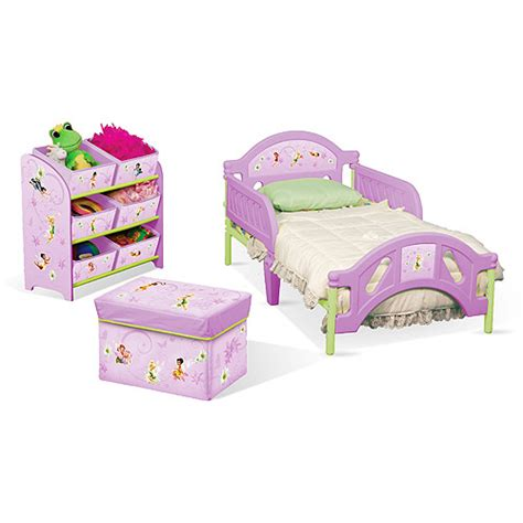 toddler bedroom in a box disney tinkerbell room in a box fairies walmart com