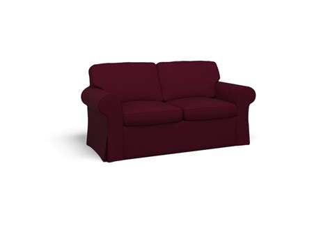 Ektorp Sofa Cover by Ektorp Two Seat Sofa Cover Lido Plum By Covercouch