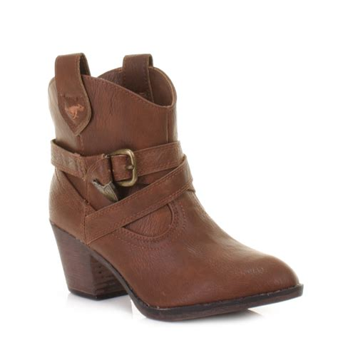 cowboy ankle boots womens womens rocket satire cowboy western ankle boots