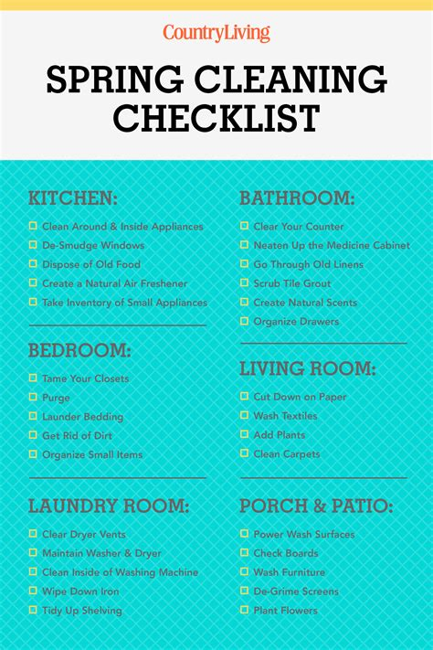 tips for spring cleaning 30 spring cleaning checklist tips how to spring clean