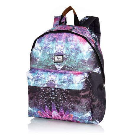 Marc Mesh Lace Robert Bag On Bags It Or It by River Island Black Hype Space Print Backpack In Black For
