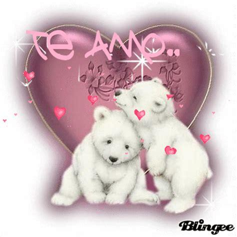 imagenes animadas de ositos de amor imagenes animadas de un osito con corazones y un te amo
