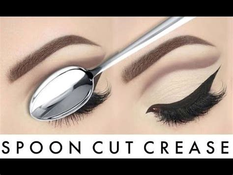 eyeshadow tutorial with spoon 17 best images about makeup on pinterest hooded lids