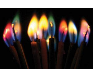 burns in different colors these candles burn in different colors because of the non