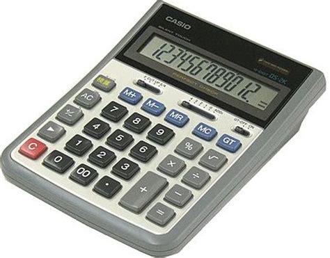 Kalkulator Casio Dj 220d Dj 240d casio ds 2k ordinateurs de poche calculatrices casio