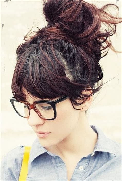 casual chignon hairstyles 27 cute hairstyles for girls popular haircuts