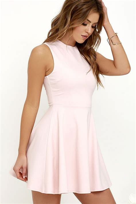 light pink skater dress loving light pink skater dress