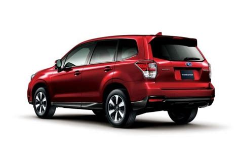Jdm 2016 Subaru Forester Official Dpccars