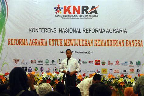 Buku Menuju Indonesia Berdaulat Pangan knra matangkan rencana implementasi program agraria