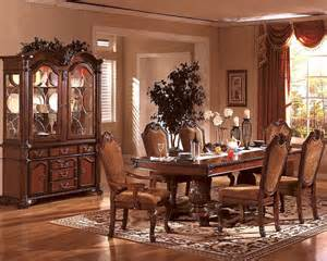 formal dining room set formal dining room set in classic cherry mcfd5006