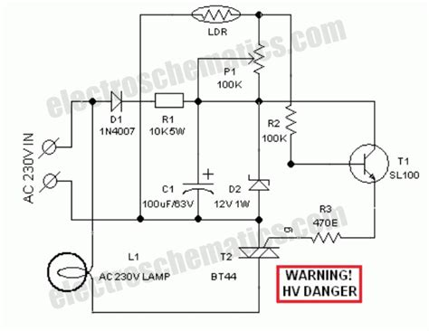 light dependent resistor light switch ldr light dependent resistor photoresistor circuit wiring diagrams