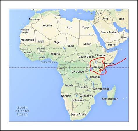Nairobi Kenya Map Africa Images Mission House Ministries - nairobi map