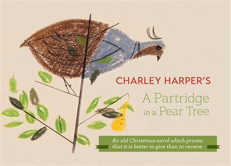 charley harper s a partridge in a pear tree