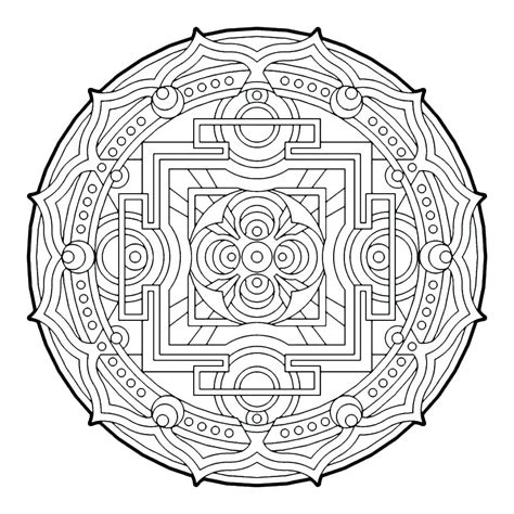 geometric coloring books geometric coloring book free coloring page for you