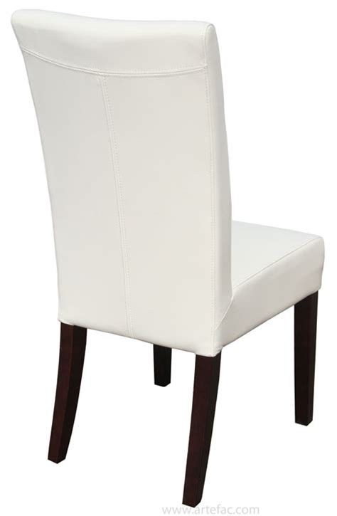 leather parson dining room kitchen chairs top grain