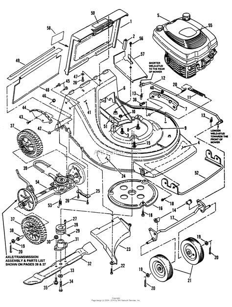 snapper mower parts diagram snapper clp21650rv 21 quot commercial rear discharge series 0