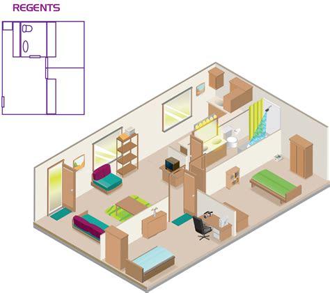 Kitchen Layouts regents apartments