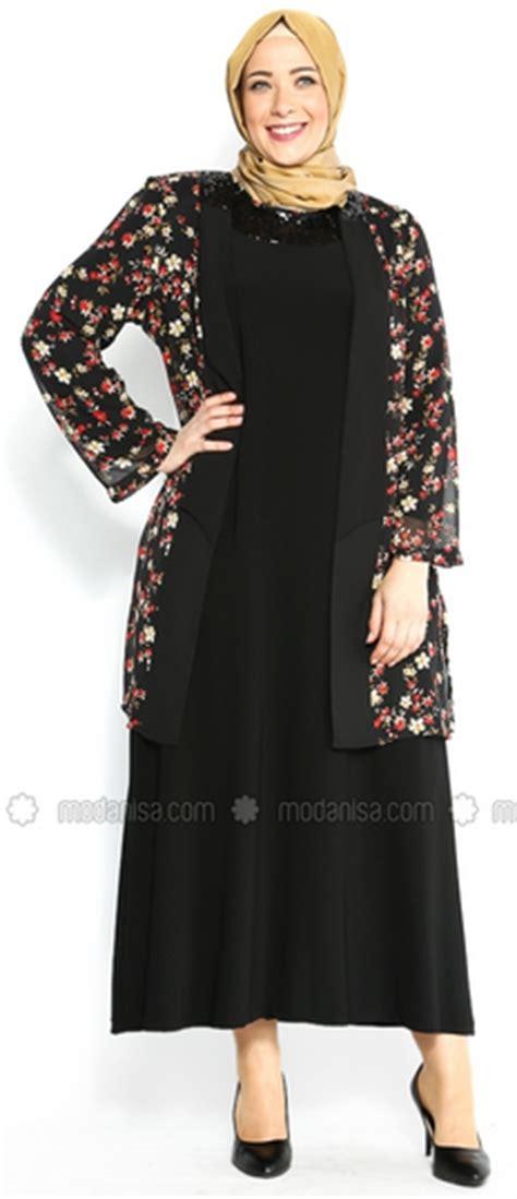 contoh desain baju batik untuk orang gemuk gambar model baju batik muslim big size terbaik 2015