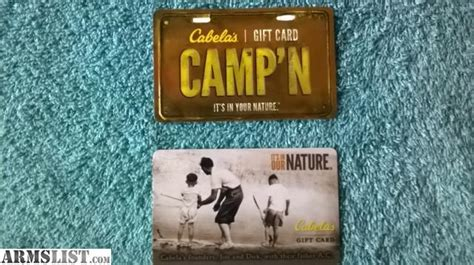 Can I Use Cabela S Gift Card At Bass Pro - armslist for sale 2 cabelas gift cards free shipping cabela s
