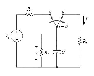 voltage across capacitor rc circuit ac for the given circuit the switch has been at posi chegg