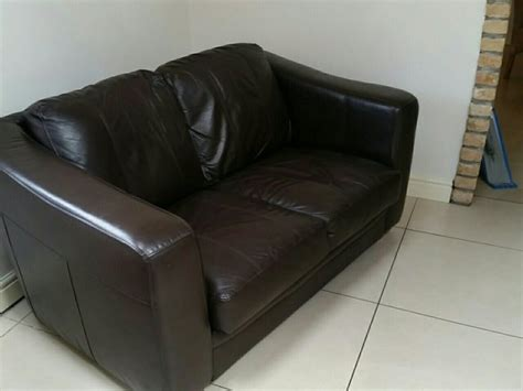 brown sofas for sale 2 seater brown leather sofa for sale in coolock dublin