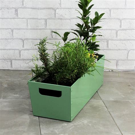 Personalised Planters by Personalised Steel Planter By Precious Design