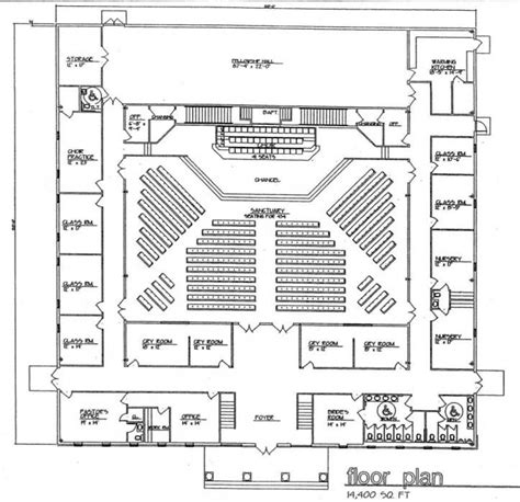 church floor plans free church building plans church plan 131 lth steel structures vision ministry