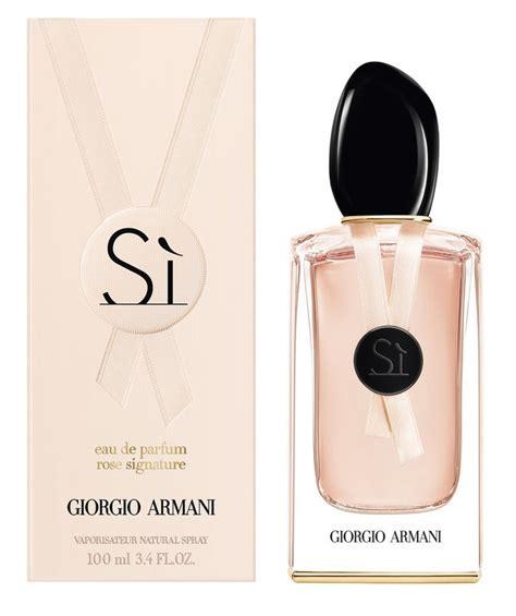 Parfum Implora Pink Ribbon new luxury fragrance giorgio armani s si signature
