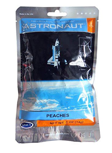 astronaut space food freeze dried ready  eat fruit