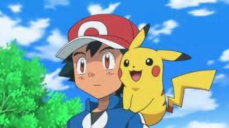 Pokemon ash and serena holding pikachu images pokemon images