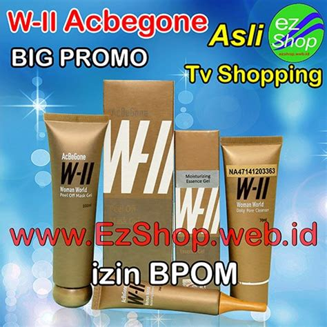 W2 Acbegone Paket Obat Jerawat Alami Asli Ez Shop Izin Bpom 6 acbegone cara menghilangkan jerawat asli ez shop tv shopping indonesia ijin bpom