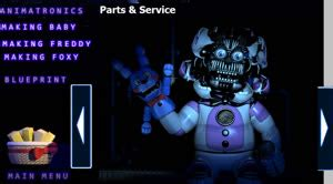 five nights at freddy's sister location all extras by
