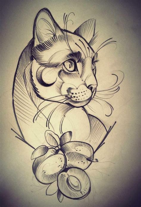 cartoon cat tattoo 4851 best images about pergamano on coloring