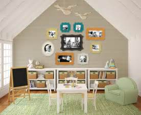 Ideas For Bedrooms With Slanted Ceilings Attic Playroom For Kids