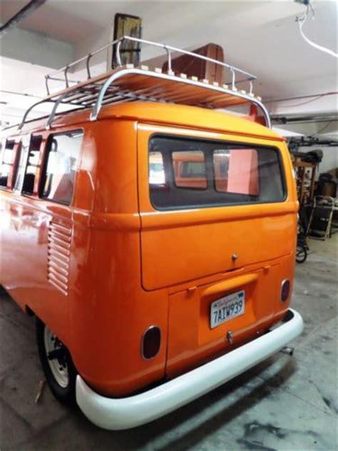 sell   vw deluxe  window safari bus  san diego california united states