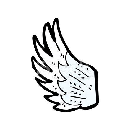 cartoon angel wing stock vector freeimages.com